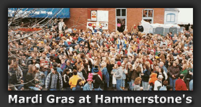Hammerstones during Mardi Gras
