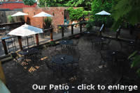 Patio at Hammerstones